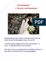 UK Immigration - Spouses, Partners and Dependants