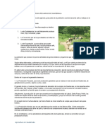 Utilizacion de Los Recursos Pecuarios de Guatemala