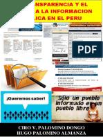 LA TRANSPARENCIA Y EL ACCESO A LA INFORMACION PUBLICA