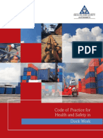 Code of Practice for Health and Safety in Dock Work