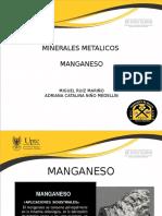 Exposicion Manganeso