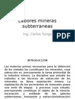 7 Labores mineras subterraneas.pptx