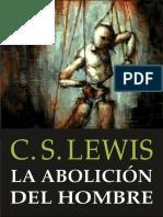La Abolición del Hombre (Lewis)