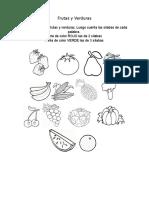 Tarea Frutas y Verduras