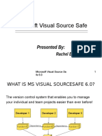 Microsoft Visual Source Safe 6.0