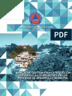 Manual Gestion Reduccionriesgo Alosdesastres Procesos Desarrollomunicipal