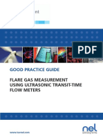 Flare Gas Measurement Using Ultrasonic Transit-time Flow Meters