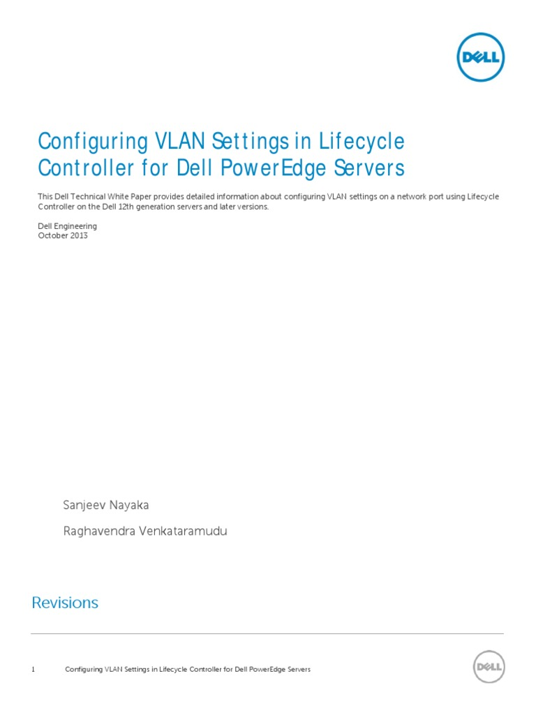 White Paper on VLAN Configuration | Ip Address | Network