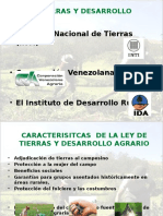 Laminas Sobre Ley de Tierras y Desarrollo Agrario