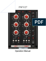 PSP E27 Operation Manual