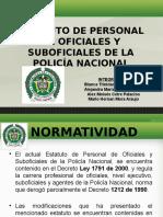 REGIMEN LABORAL DE LA POLICIA NACIONAL DE COLOMBIA