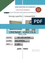 Drenaje Agricola