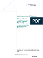 Autocad Quick Reference R2007