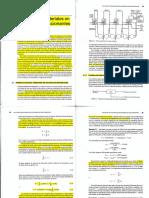 Balances de Materia en Sistemas No Reaccionantes