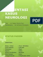 PRESENTASI KASUS NEUROLOGI