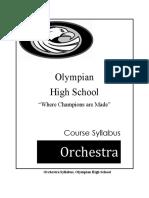 syllabus orch 2016