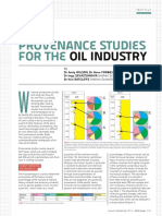 2014 Provenance Studies for the Oil Industry