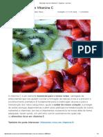 Alimentos Ricos Em Vitamina C - 6 Passos - UmComo