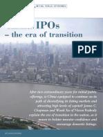 China IPOs