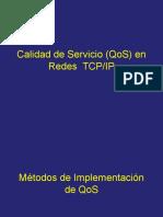 1.3 Métodos de Implementación QoS