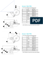 1800PFM Overall Dimensions