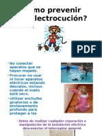 Cómo Prevenir Una Electrocución
