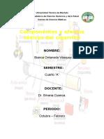 Componentes Del Cigarrillo y Sus Efectos Tóxicos