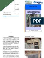 Manual Para La Producción de Bambú