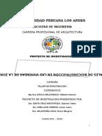 Niveles de Aplicación de Materiales de Bioconstrucción en Las Viviendas de La Zona Rural de Chongos Bajo-2016