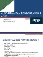 Bab 1 Algoritma Dan Pemrograman 1