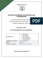 Resumen NIC 19