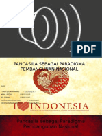 Ppt Pancasila Sebagai Paradigma Pembangunan Nasional