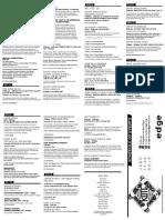 Kote 2016 Schedule Web
