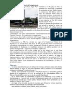Monumento a Los Próceres de La Independencia
