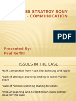 Sony Mobile Communication Business Strategy