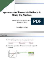 Proteomics Lecture