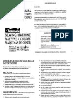 Manual Maquina de Coser Kenmore 385 12814490