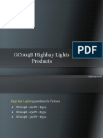 GC004B Highbay Lights Products