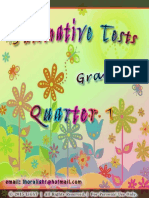 Complete Set of Summative Test (All Subjects) for Grade 4 (2)
