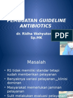 Pembuatan Guideline Antibiotics