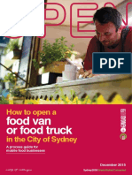 01 How to Open a Food Van or Food Truck in the City of Sydney