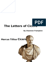 Letters of Cicero (2)