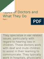 Doctors Part I
