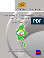2014 Myanmar Census - Religious Population (English Version)