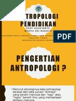 antropologi pendidikan