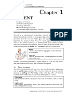 Chapter 1 Cement