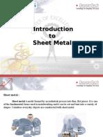 Sheetmetal Intro