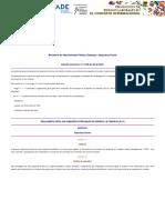 Decreto 21 98 - Regulamento Geral Das Comissões de Prevenção de Acidentes de Trabalho