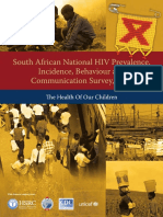 South African National HIV Prevalence, Incidence, Behaviour and Communication Survey, 2008