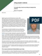 Elsevier.com-5 Pitfalls to Understanding Peoples Motives